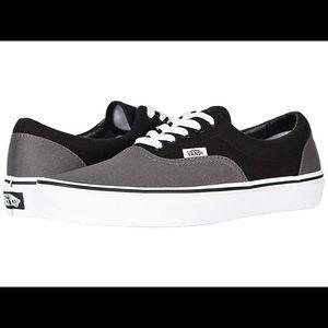 VANS Size 10 Grey Black Classic Sneakers